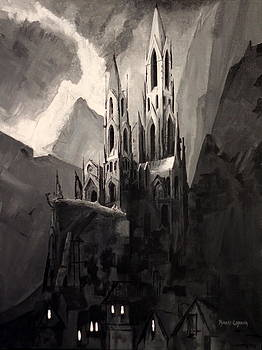 Dark Castle number two by Robert Crooker