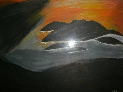 Dark Cloud Over Island by Ketina Winston
