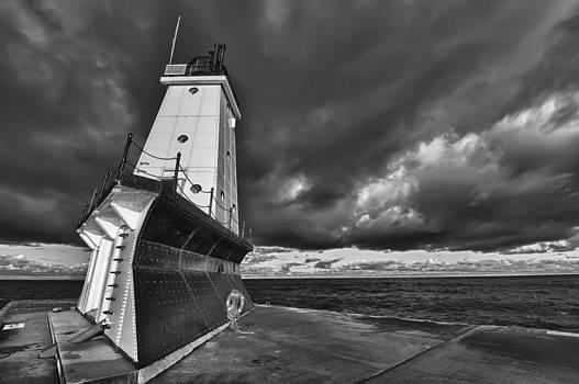 Sebastian Musial - Dark Clouds Black and White