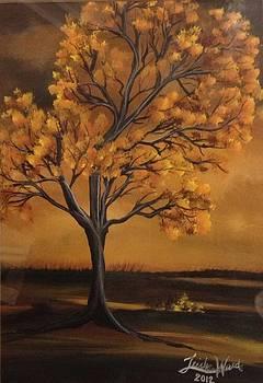 Dark fall nights by Trisha Ward