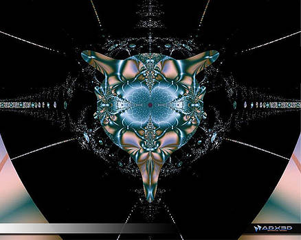 Dark Fractal II by A Dx
