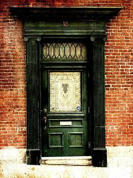 Laura Carter - Dark Green Doorway Photograph Print
