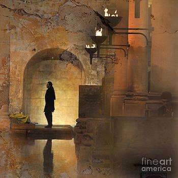 Dark night by Sylvia Lakoma