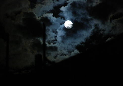 Dark side of the Moon by Csongor Licskai