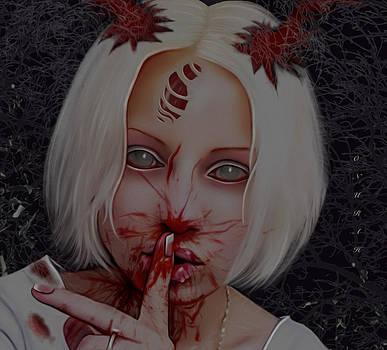 Dark Silence by Onurah Art