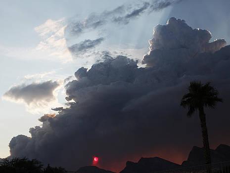 Dark Sunset by Dennis Galloway