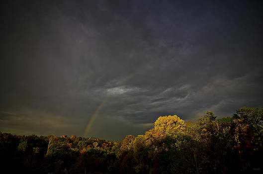 Darkness Light and Rainbows by Shirley Tinkham