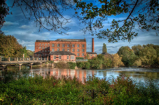 Darley Abbey Mills. by Darren Marshall