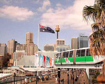 Darling Harbor by Aileen Mayer