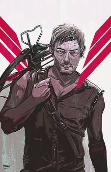 Daryl Dixon by Jeremy Scott