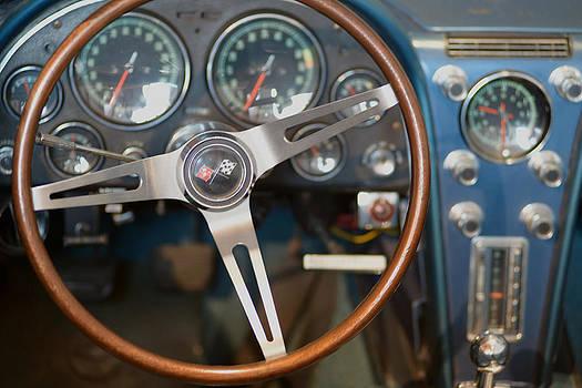 Dashboard CHEVROLET Corvette 427 Stingray by Eric Keesen
