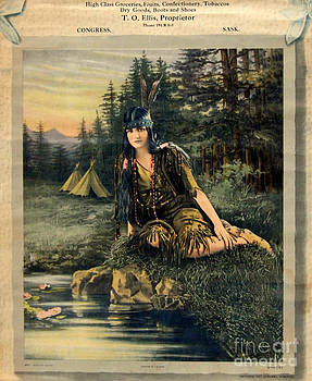 Linda Rae Cuthbertson - Daughter of the Chief Antique Canadian Store Advertisement