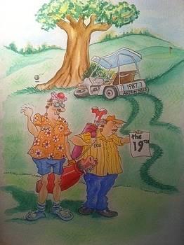 Dave and Bob by Stephanie Reid