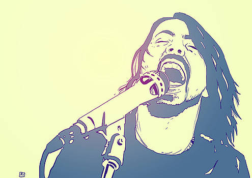 Dave Grohl by Giuseppe Cristiano