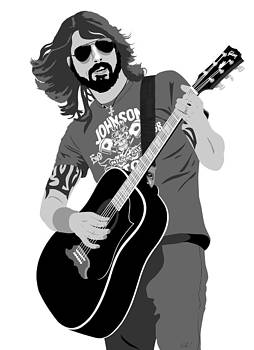 Dave Grohl by Paul Dunkel