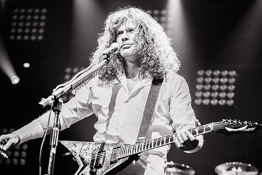 Dave Mustain from Megadeth. Live 2012 by Lidia Sharapova