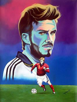 David Beckham by Hector Monroy by Hector Monroy