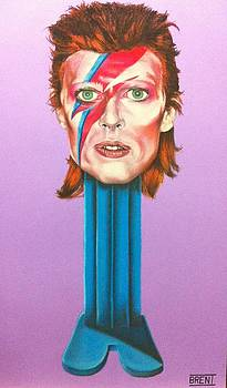 David Bowie by Brent Andrew Doty