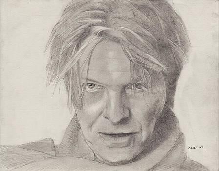 David Bowie by Glenn Daniels