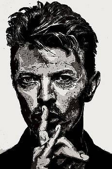David Bowie - Pencil by Doc Braham
