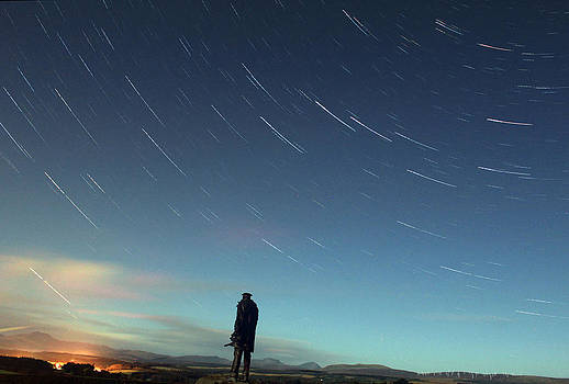 David Stirling Star Trail by Catherine Perkinton