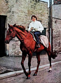 Davy Jones on Horseback by Suzanne Gee