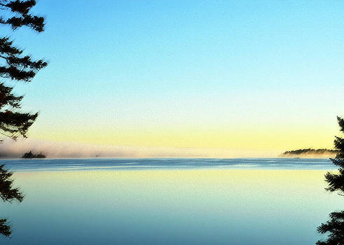 Dawn Cathance Lake  by Lisa Purcell