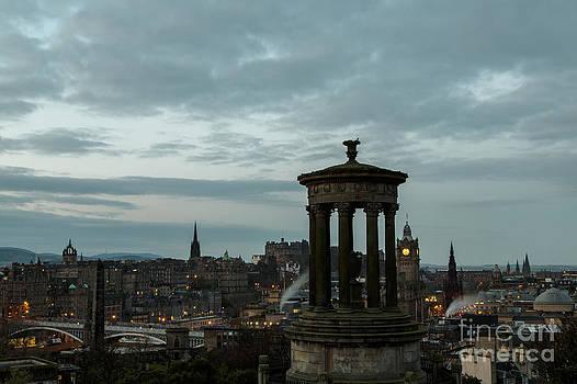 John Daly - Dawn in Edinburgh