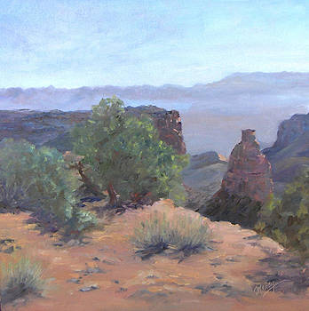 Dawn Light Utah by Marcy Silverstein