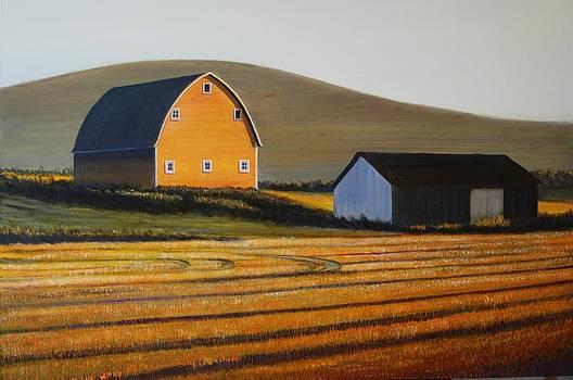 Dawn near Lenville by Leonard Heid