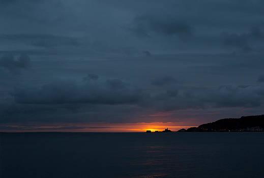 Dawn over Swansea Bay by Paul Cowan