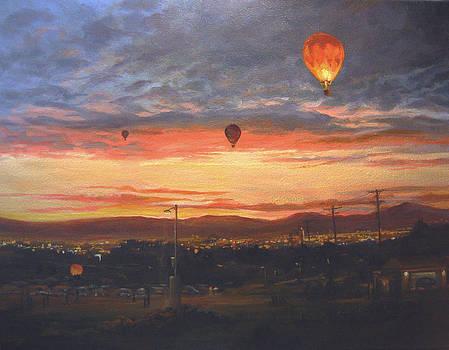 Dawn Patrol by Donna Tucker