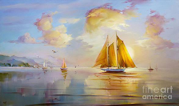 Dawn by Roman Romanov