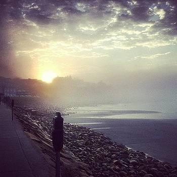 #dawnpatrol #longsands #vacationland by Mike Corrao