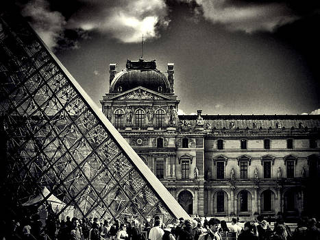 Day at the Louvre  by Karen Lindale