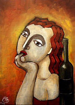 Day Dreaming in a bar by Simona  Mereu