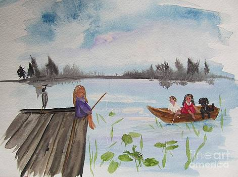 Day of Fishing by Susan Voidets