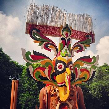 Dayak Traditional Mask #mask #dayak by Dani Daniar