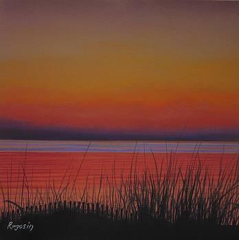 Daybreak's Reflection by Harvey Rogosin