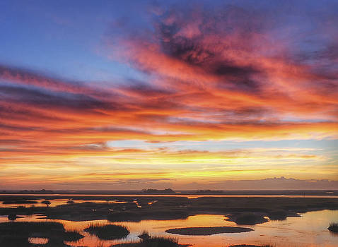 Daydream Sunrise Sunset Image Art by Jo Ann Tomaselli