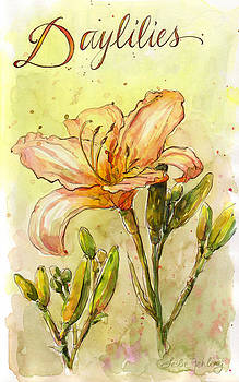 Daylilies by Leslie Fehling