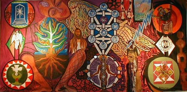 De Point Where All Things Spirits Meet by Kalikata MBula