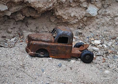 Dead Truck Graveyard by Jill Baum