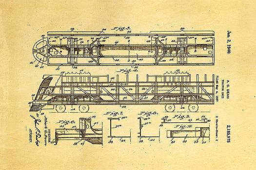 Ian Monk - Dean Train Tractor Unit 2 Patent Art 1940