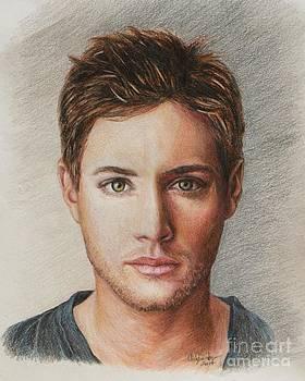 Dean Winchester / Jensen Ackles by Christine Jepsen