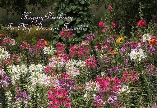 Rosanne Jordan - Dearest Friend Birthday Greeting