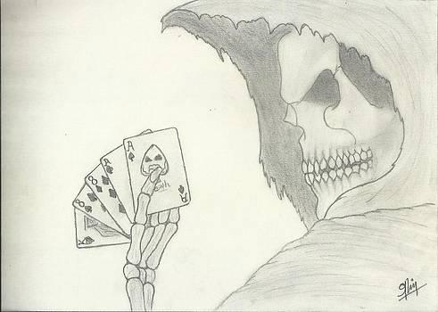 Death 2 Sketch by Saleem Baig