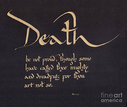 Death be not Proud by David  Speck