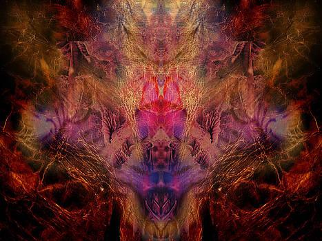 Decalcomaniac Mirror by Otto Rapp