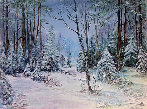 December Light by Iya Carson